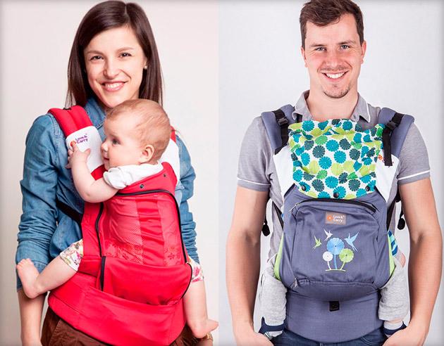 Эргономичная модель для ношения новорожденных