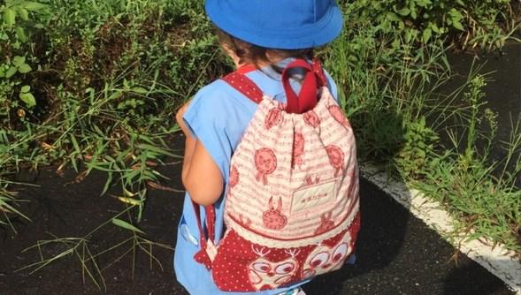 Готовый красивый детский рюкзак