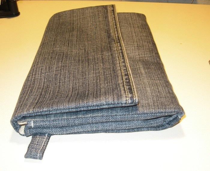 Красивая сумочка своими руками из джинсов