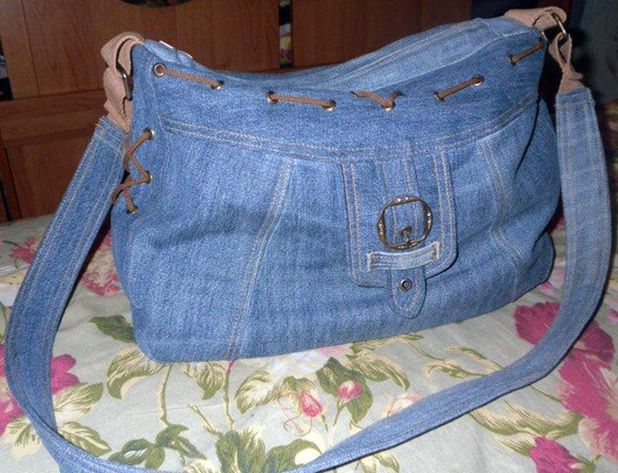 Шьем джинсовую сумку сами