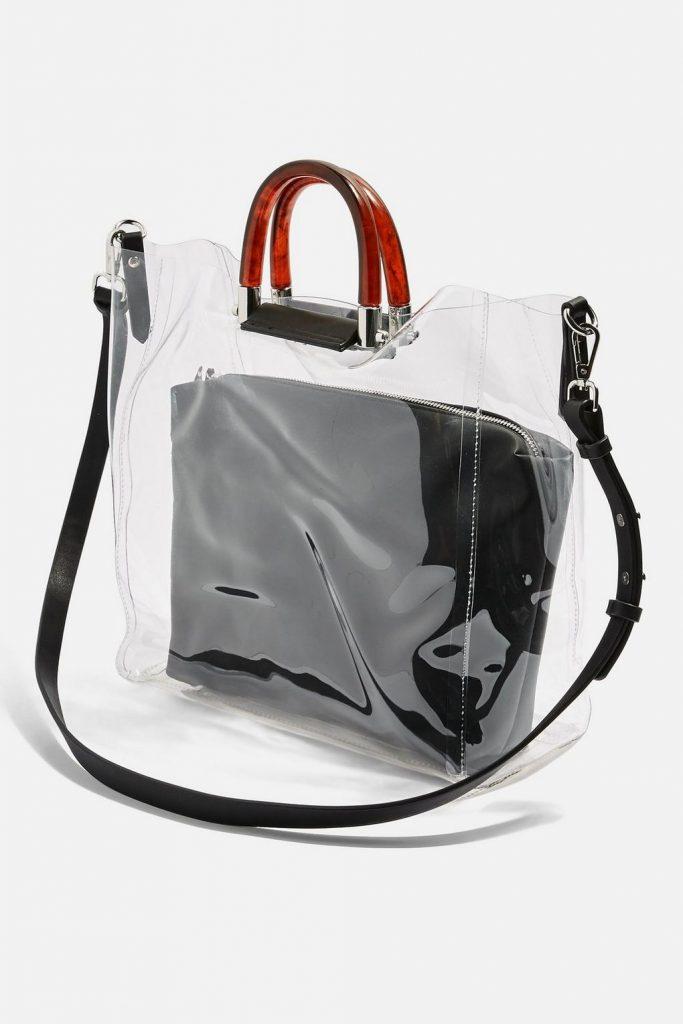 6b551fc24747 Прозрачная сумка, особенности, преимущества, дизайнерские новинки