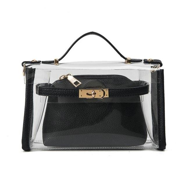6ab51328e383 Лучшие модели прозрачных сумок и их сочетаемость со стилями одежды