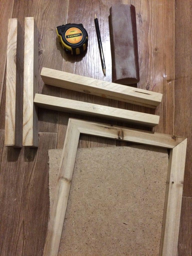 Материалы для деревянной ключницы