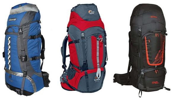 Объемные рюкзаки