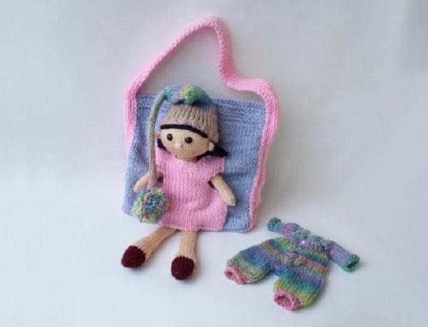 Сумочка-кукла
