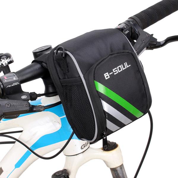 Велосипедная сумка из мягкой ткани