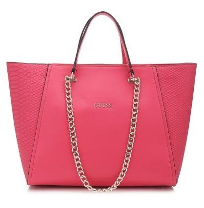 Розовый шоппер
