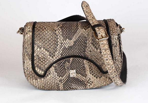46dd218ede8f Небольшая сумочка; Женская сумка; Сумка из кожи питона ...