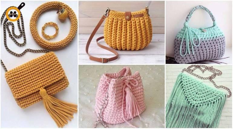 d7acf5525216 Популярные модели сумок, связанных крючком, схемы и мастер-классы. Учимся вязать  сумку
