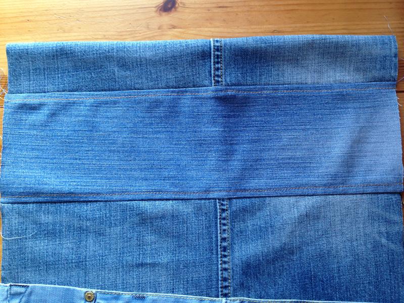 Vyvernut-sumku Большая пляжная сумка из старых джинсов своими руками